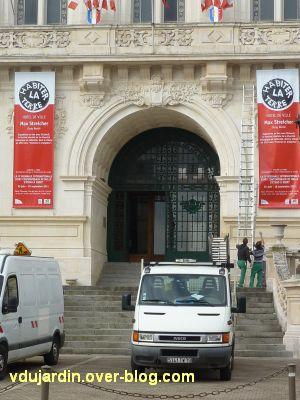 Juillet 2011, art contemporain, 4, Max Streicher dans l'hôtel de ville de Niort