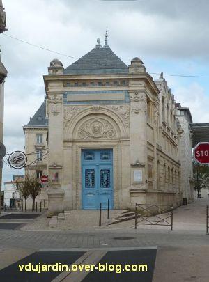 Niort, l'ancienne école d'art, 01, la façade