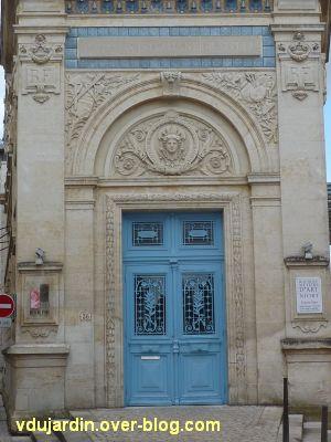 Niort, l'ancienne école d'art, 03, la porte monumentale