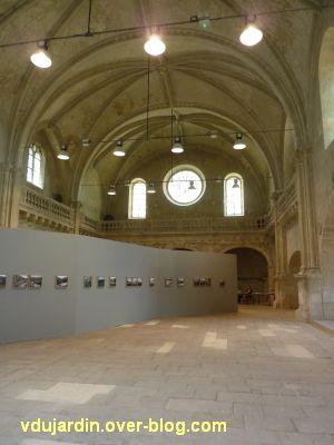 Juillet 2011, art contemporain, 2, Spitzberg dans la chapelle Saint-Louis à Poitiers