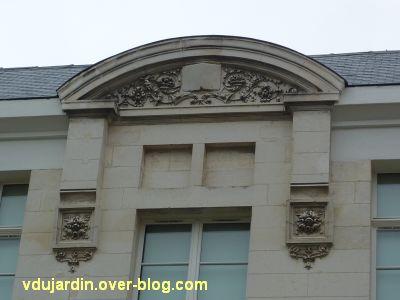 Poitiers, la crèche du Marronnier, 5, le décor du 19e siècle