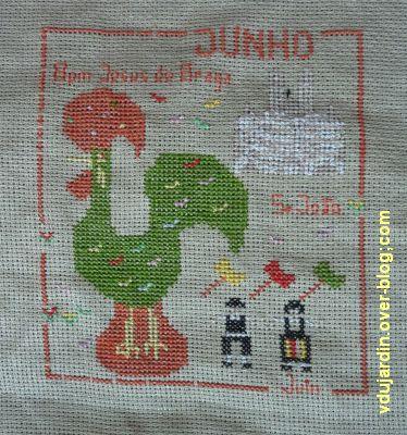 SAL calendrier 2011 par défi de Toile, juin