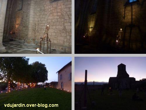 La nuit romane Carabosse à Parthenay le 12 août 2011, quatre autres vues