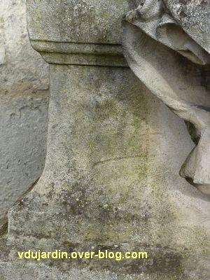 Le monument aux mobiles de la Charente à Angoulême, 2, la signature de Raoul Verlet