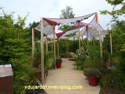 Chaumont-sur-Loire, festival 2011, le jardin 14, 1, l'entrée