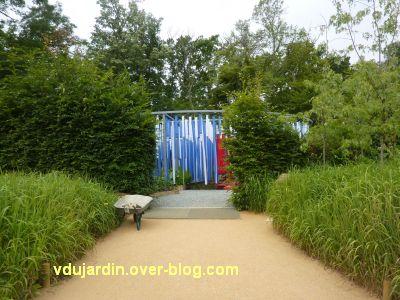 Chaumont-sur-Loire, festival 2011, le jardin 15, 1, l'entrée
