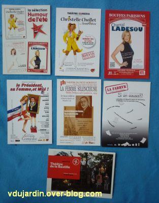 Juillet/août 2011, 6, cartes à publicité de Capucine