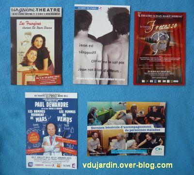 Juillet/août 2011, 5, cartes à publicité de Capucine