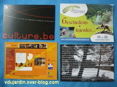 Juillet/août 2011, 2, cartes à publicité de Dalinele