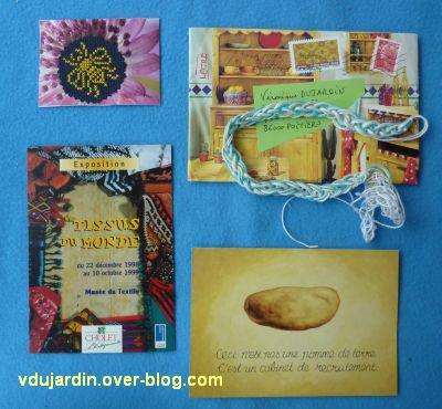 Juillet 2011, cartes reçues de Zazimuth