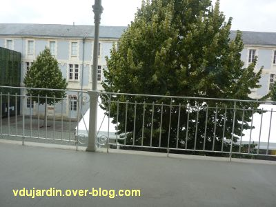 Niort, l'ancien lycée devenu musée d'Agesci, 6, la coursive du premier étage