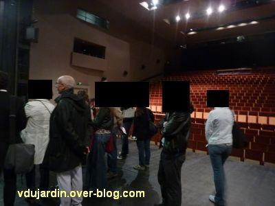 Poitiers, le théâtre et auditorium, 5, le théâtre vu depuis la scène