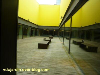 Poitiers, le théâtre et auditorium, 6, le foyer des artistes, partie extérieure