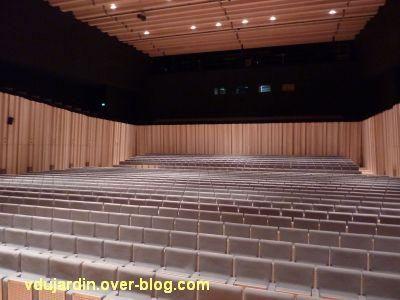 Poitiers, le théâtre et auditorium, 9, la salle de l'auditorium vue depuis la scène