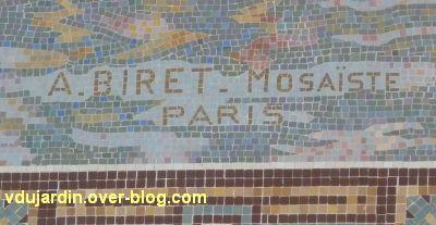 La gare de La Rochelle, 07, la signature Biret sous les bateaux