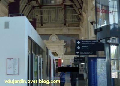 La gare de La Rochelle, 12, les mosaïques de droite