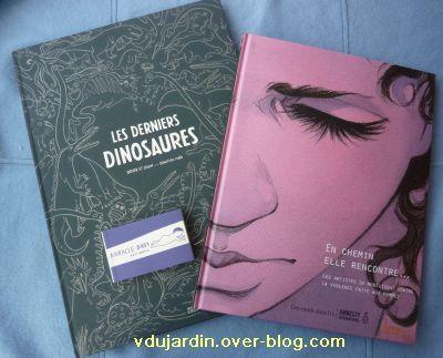 Achats au festival de la BD d'Angoulême en 2011