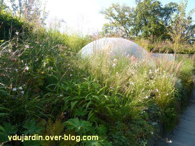 Chaumont-sur-Loire, festival des jardins 2011, le jardin 5 en automne (30 septembre)