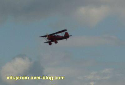 Chaumont-sur-Loire 2011, le parc, Tadashi Kawamata, 4, un vieil avion
