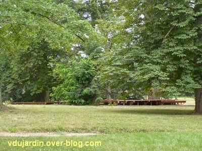 Chaumont-sur-Loire 2011, le parc, Tadashi Kawamata, 9, le plancher