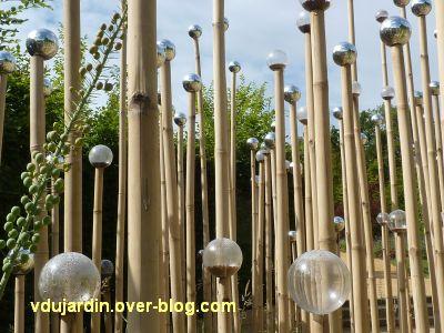 Chaumont-sur-Loire, festival 2011, le jardin 4bis, 2, les bulles à graines