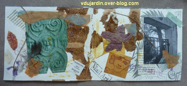Les envois de mi septembre 2011, 2, carte maison de Véro bis, l'intérieur