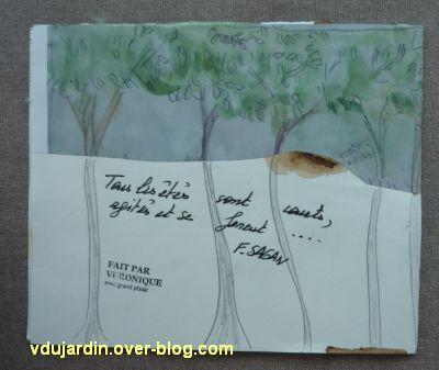 Les envois de mi septembre 2011, 3, carte maison de Véro bis, le dos