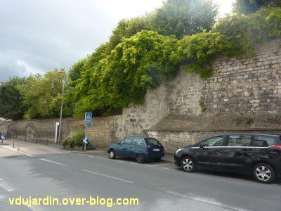 Niort, le rempart rue d'Alsace-Lorraine