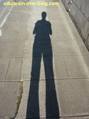 Défi photo, ombre et lumière, 2, auto-portrait