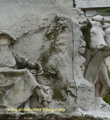 Paris, monument à Pasteur par Falguière, 19, mûrier ?