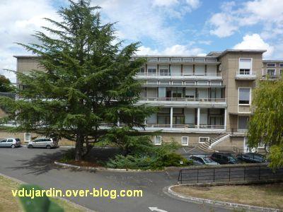 Poitiers, l'ancien sanatorium, 5, l'aile gauche