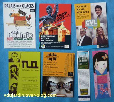 Mon anniversaire 2011 par Véro bis, 4, cartes et marque-pages