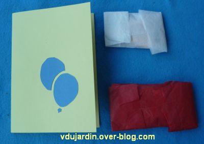 Mon anniversaire 2011 par Capucine, 1, carte et paquets fermés