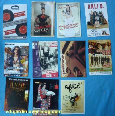 Mon anniversaire 2011 par Capucine, 7, cartes à publicité
