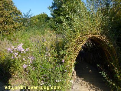 Chaumont-sur-Loire, festival des jardins 2011, le jardin 4 en automne (30 septembre)