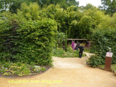 Chaumont-sur-Loire, festival 2011, le jardin 10, 1, l'entrée du jardin