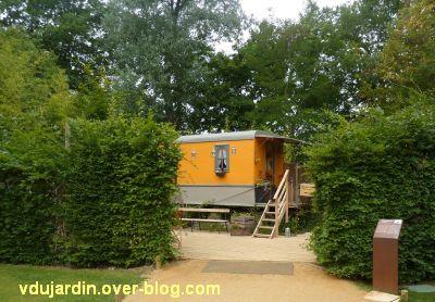 Chaumont-sur-Loire, festival 2011, le jardin 19, 1, depuis l'entrée