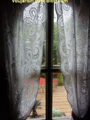 Chaumont-sur-Loire, festival 2011, le jardin 19, 4, par la fenêtre