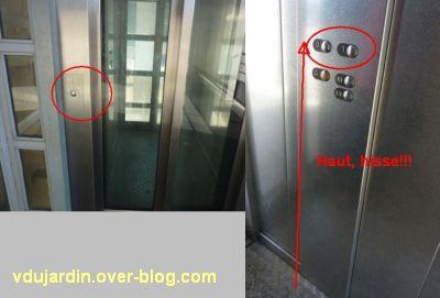 Poitiers, ville inaccessible au handicap, 02, haut, hisse, ascenseur extérieur de la gare