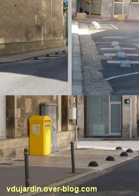Poitiers, ville inaccessible au handicap, 09, les fameuses boules casse-gueule