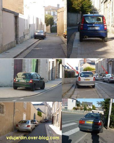 Poitiers, ville inaccessible au handicap, 16, des trottoirs ou des parkings
