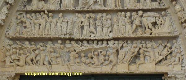 Poitiers, le jugement dernier de la cathédrale, 01, vue générale