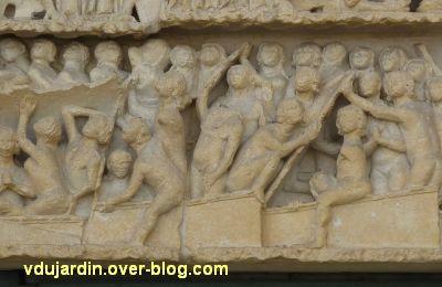 Poitiers, le jugement dernier de la cathédrale, 04, résurrection des morts