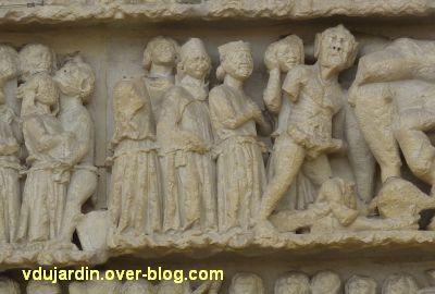 Poitiers, le jugement dernier de la cathédrale, le jugement, 17, l'enfer
