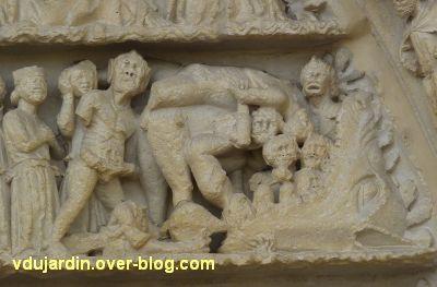Poitiers, le jugement dernier de la cathédrale, 18, l'enfer