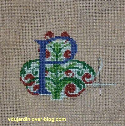 bannière pour Ruffey-sur-Seille, la rosace à la lettrine P