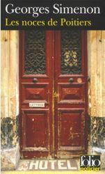 Couverture de Les noces de Poitiers de Georges Simenon