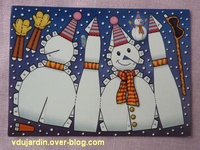 Opération bonhomme de neige 2011, 1, la carte