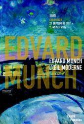 Affiche de l'exposition Edvard Munch, l'oeil moderne, à Pompidou, 2011