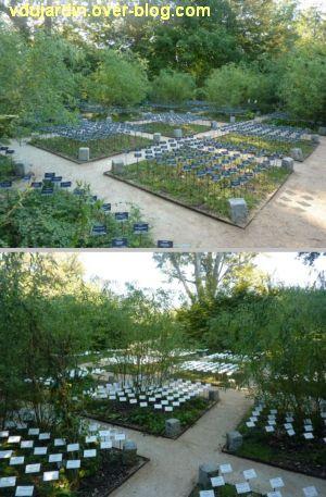 Chaumont-sur-Loire, festival des jardins 2011, deux vues du jardin 12 en automne (30 septembre)